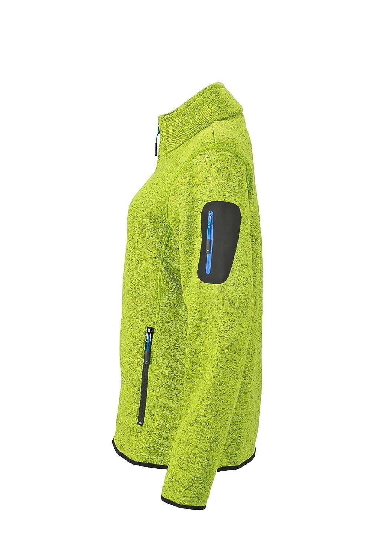 James /& Nicholson Damen Jacke Jacke Knitted Fleece Jacket