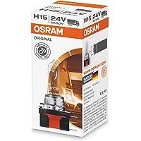 Osram 64177 Lámpara Halogen H15 20/60W PGJ23t-1 24V