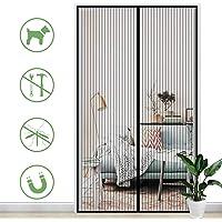 Gimars Cortina mosquitera doble magnetica puerta exterior sin