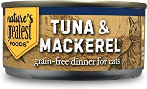 Nature's Greatest Foods, Grain Free Cat Food, 5 Ounce (Pack of 24)
