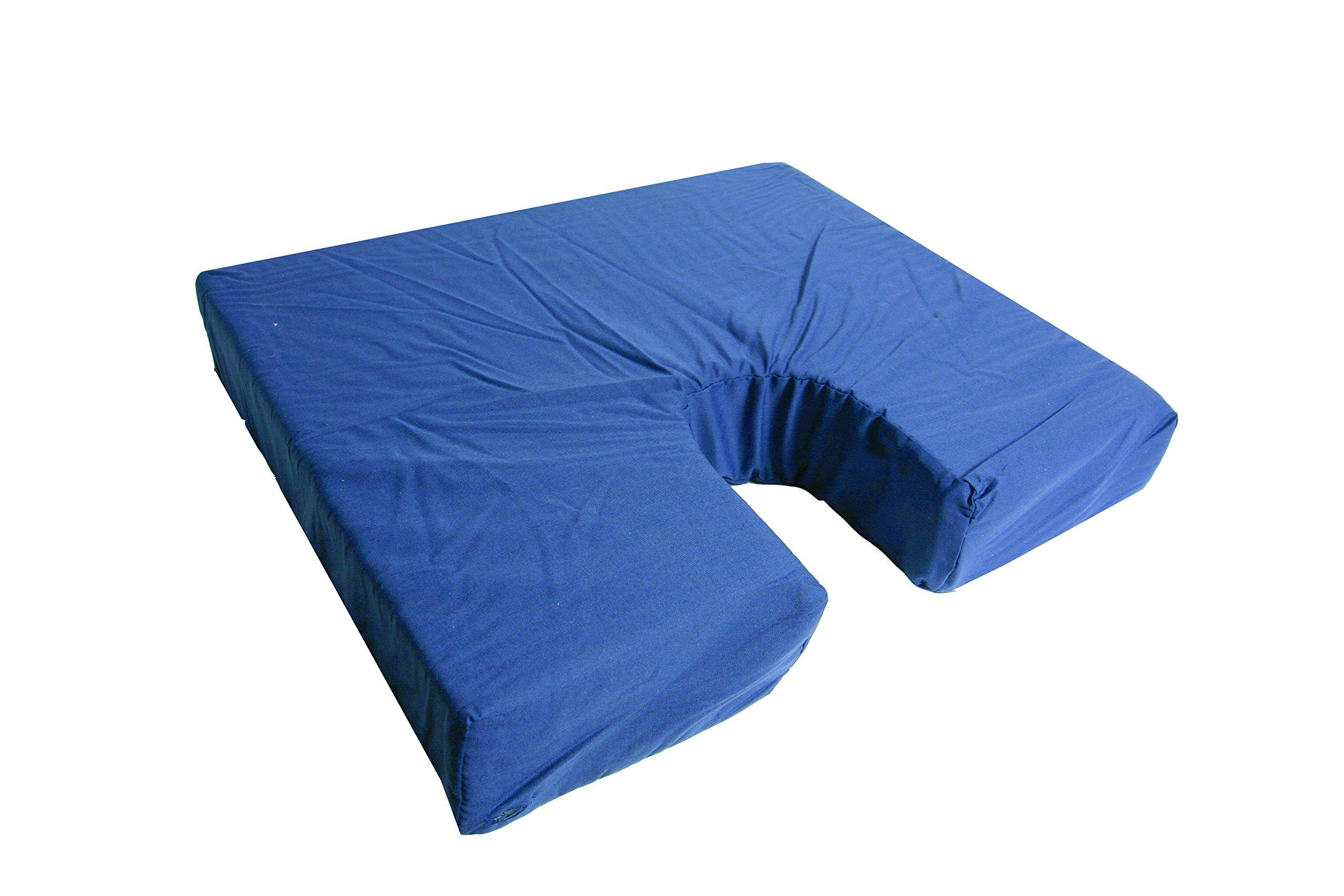 Geneva Healthcare Coccyx Seat Cushion - 16'' x 18'' x 3'' - 6/CS