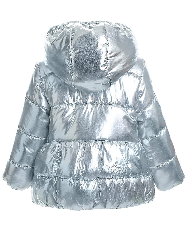 Farbe Silber mit Unicorn und Kapuze Tailliert Lang f/ür 9 24 Monate GULLIVER Baby M/ädchen Silber Winterjacke Daunenjacke Jacke mit Futter