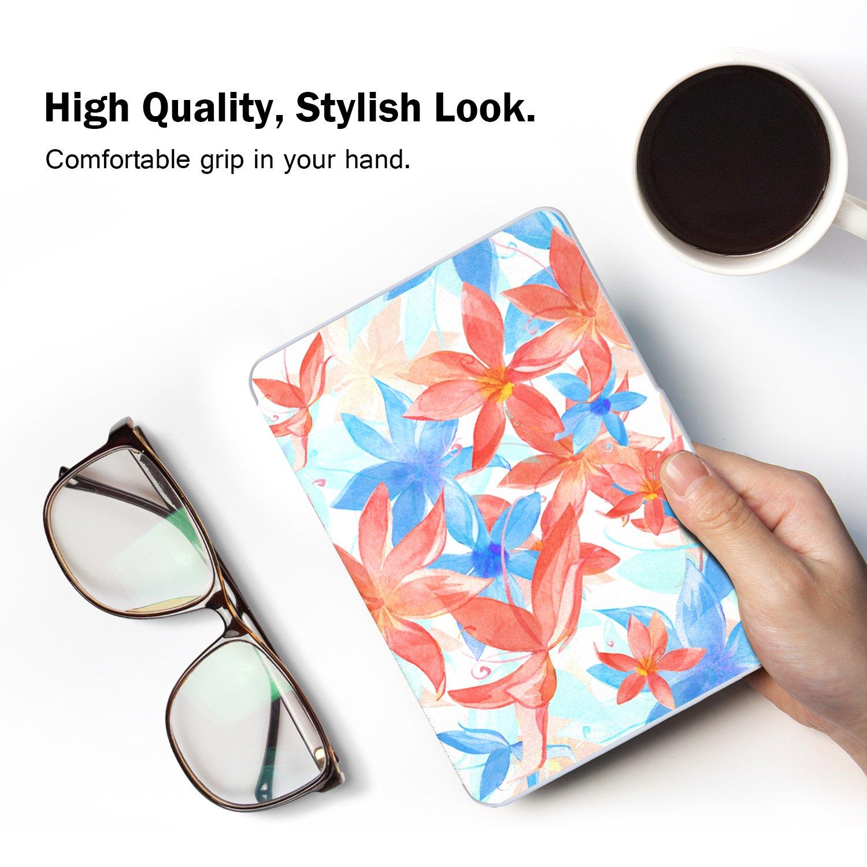 MoKo Kindle Paperwhite Funda Ultra Slim Ligera Smart Shell Case Cover con Auto Estela//Sue/ño Estilo Vintage