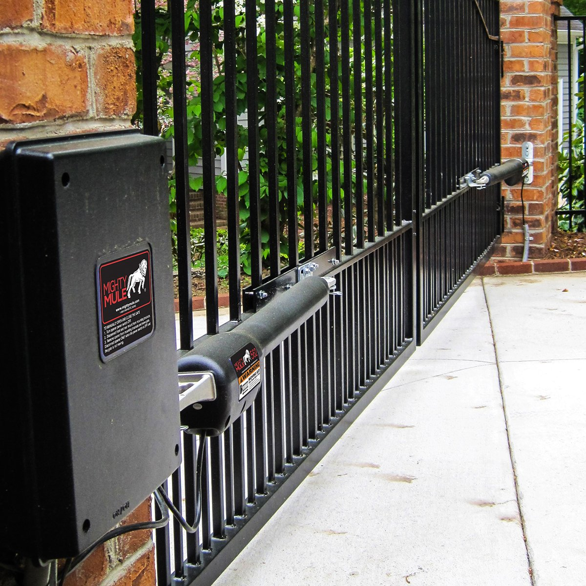Mighty Mule MM562 Automatic Gate Opener for Heavy Duty Dual Swing Gates for 18' Long or 850 lb by Mighty Mule (Image #4)