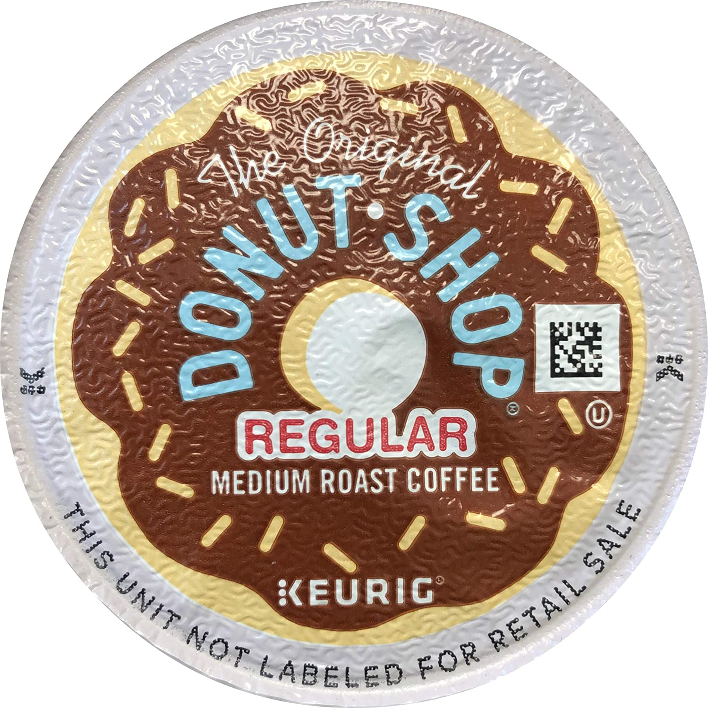 The Original Donut Shop Regular Keurig Single-Serve K-Cup Pods, Medium Roast Coffee, 18 Count - 1 Pack (Packaging May Vary)