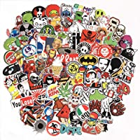 Rapidotzz Decals Grafitti Stickers for Car Motorcycle Bicycle Luggage Skateboard and Laptop -Pack of 50