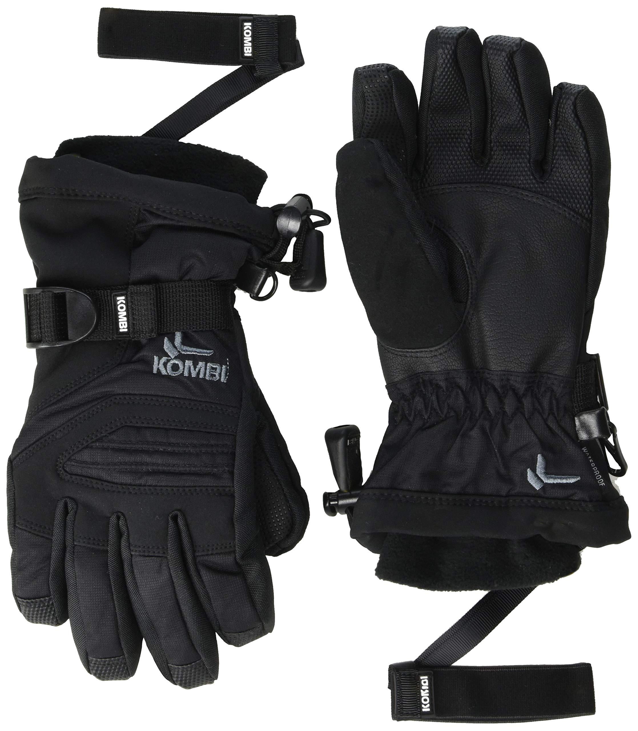 Kombi Junior Storm Cuff III Gloves, Black, Small