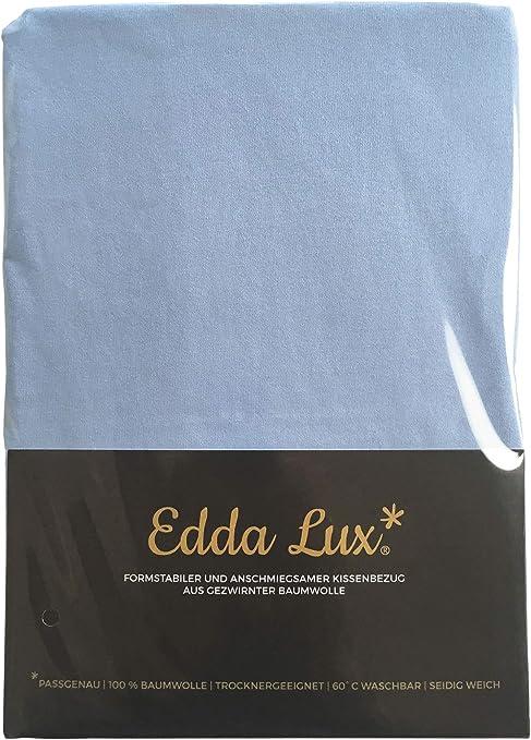 ardoise Plusieurs couleurs EddaLux Housse de coussin en jersey pour oreiller Tempur Original Queen S//M//L//XL 61 x 31 cm 61 x 31 cm 100 /% coton 60 x 30 cm