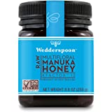 Wedderspoon Raw Premium Manuka Honey KFactor 12, Unpasteurized, Genuine New Zealand Honey, Multi-Functional, Non-GMO…