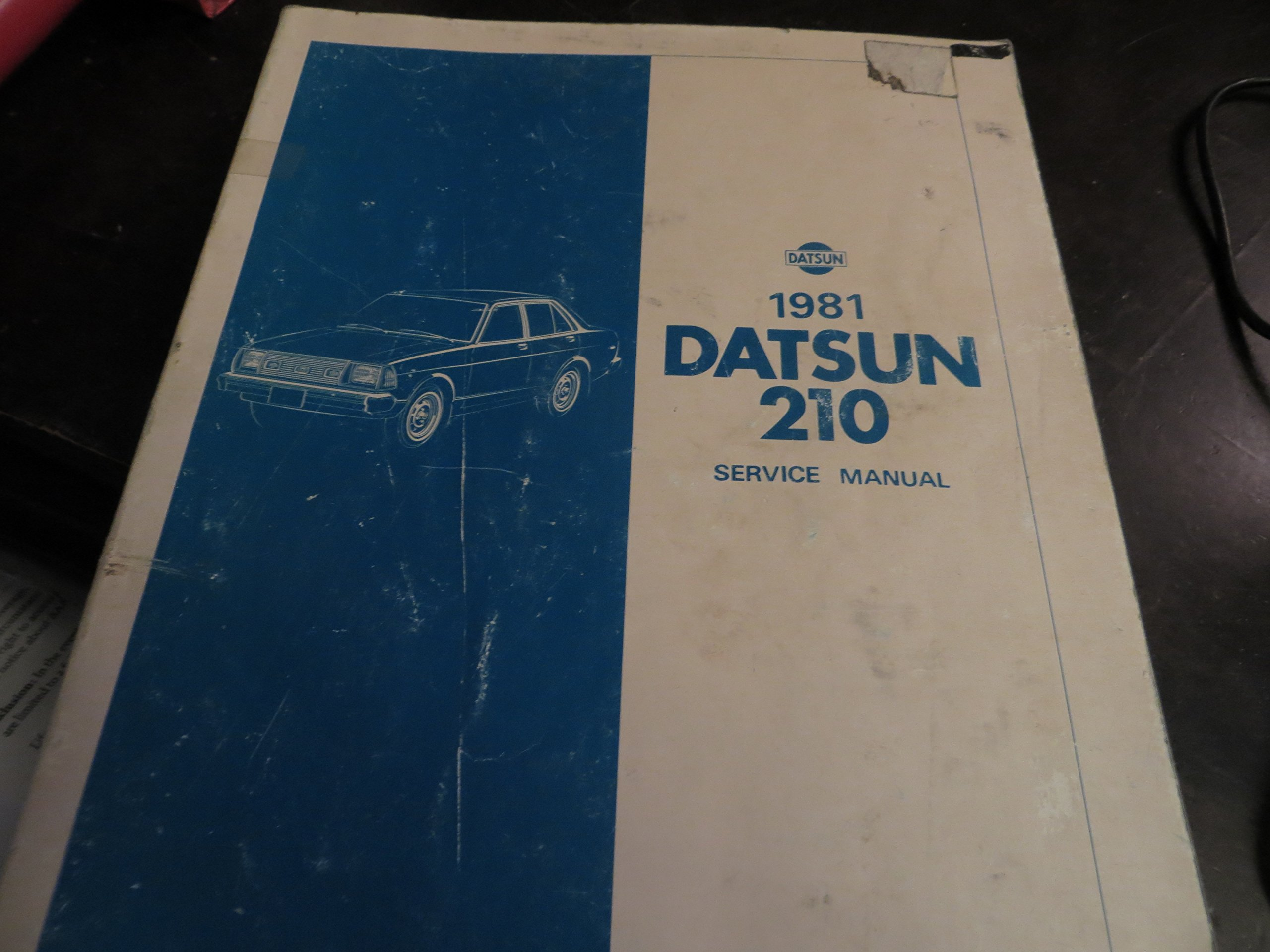 1981 Datsun 210 Service Manual - Model B310 Series: Ltd. Nissan Motor Co.:  Amazon.com: Books