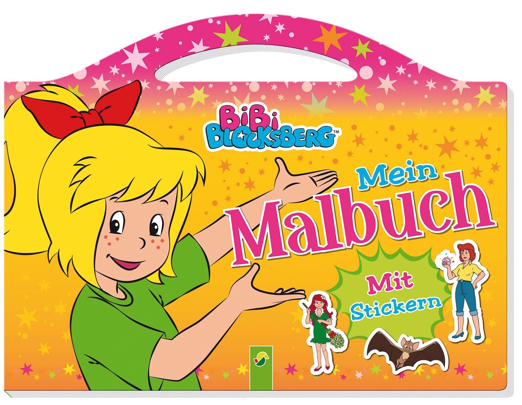 Bibi Blocksberg Mein Malbuch Mit Stickern Taschenmalbuch