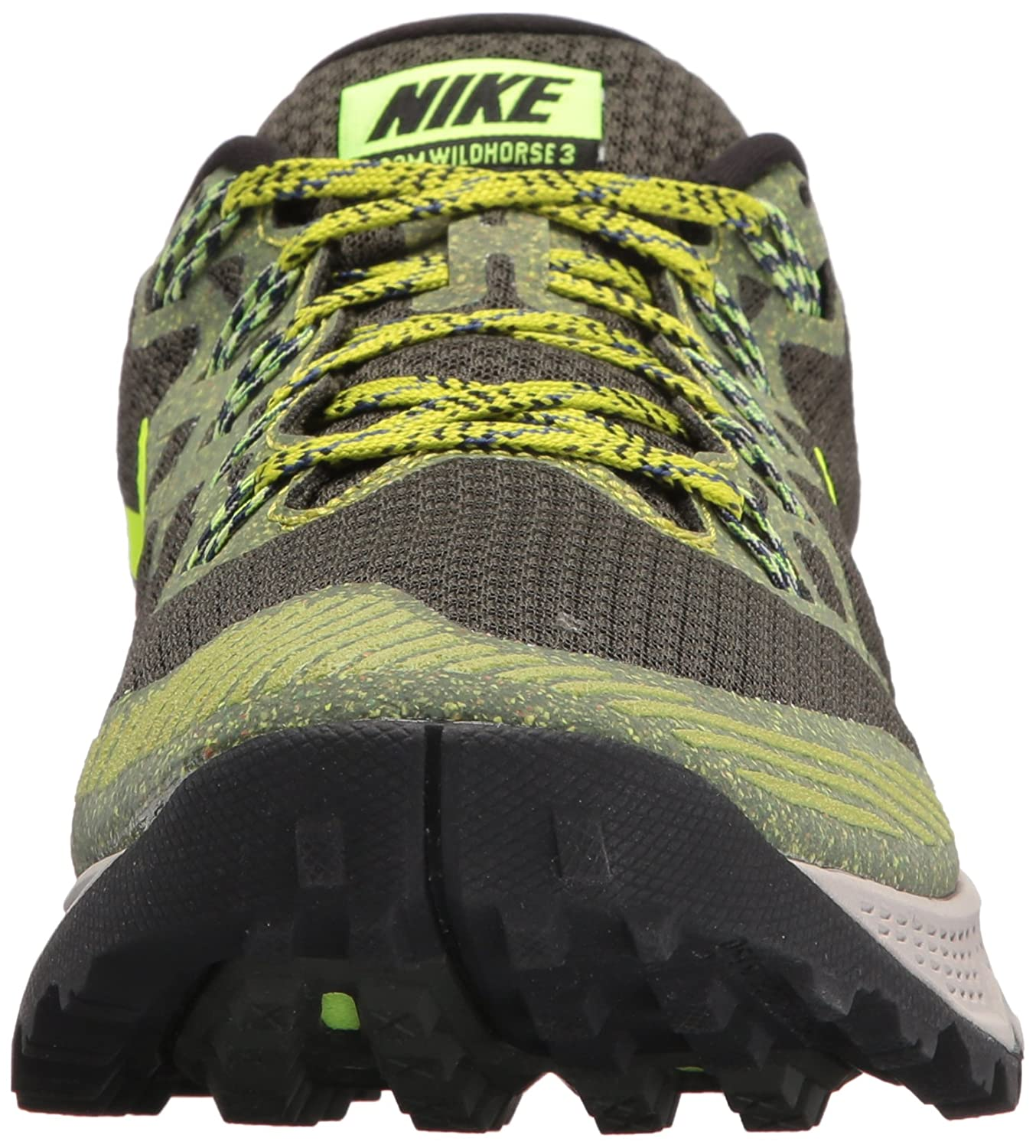 b3f59630fbdc Nike Men s Air Zoom Wildhorse 3 Sequoia Volt Bright Cactus Running Shoe 8  Men US  Buy Online at Low Prices in India - Amazon.in