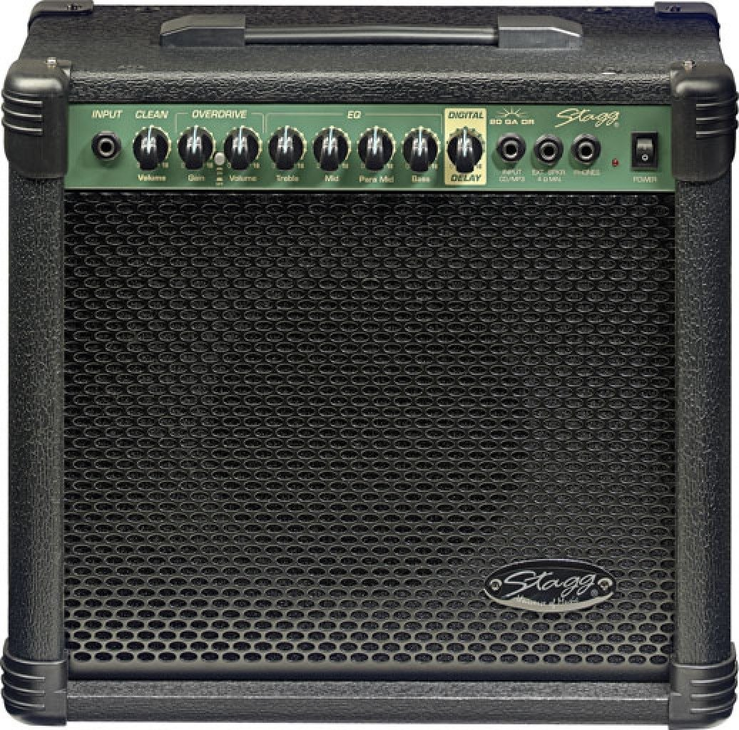 Stagg 20 GA DR USA 20-Watt Guitar Amplifier with Digital Reverb