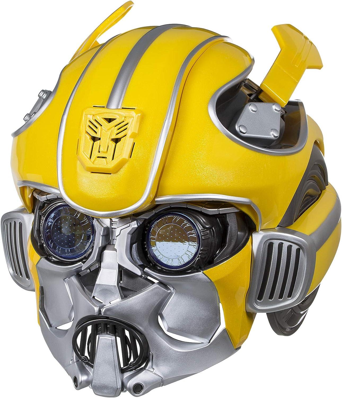 Mini High speed Transformer Bumblebee Helmet Wireless Bluetooth Speaker Loud LED
