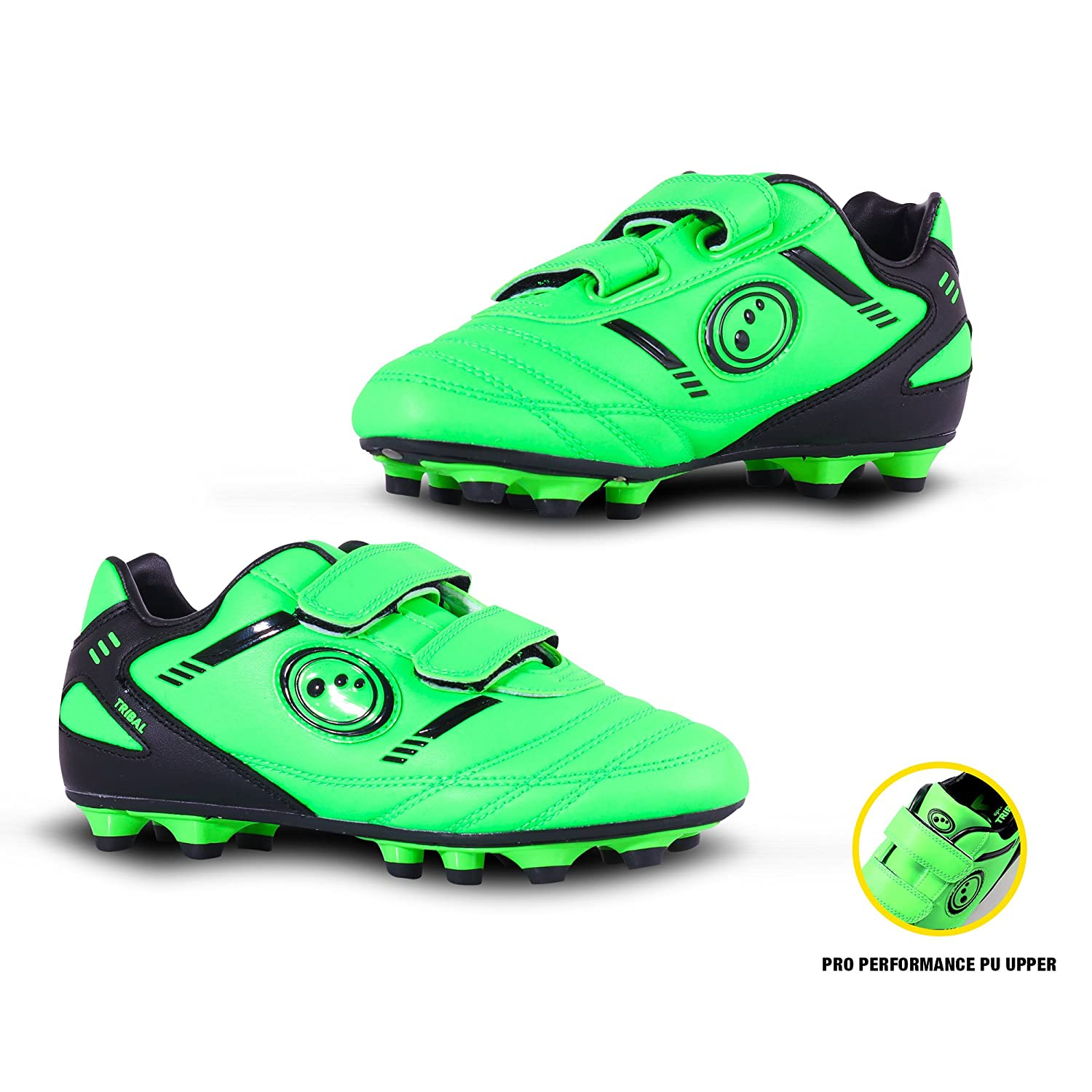 OPTIMUM Tribal Moulded, Botas de fútbol para Niños FBTVMSYPJ3