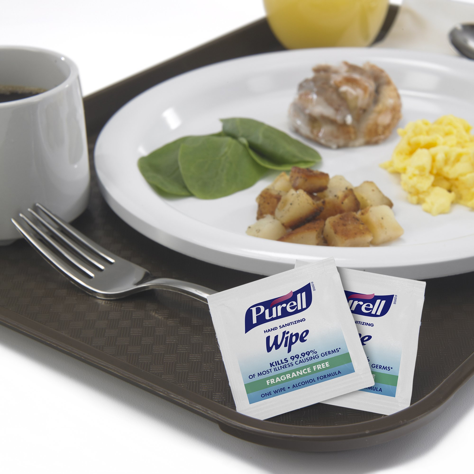 PURELL Hand Sanitizing Alcohol Wipes - Portable Individually Wrapped Wipes (Pack fo 300) - 9020-06-EC by Purell (Image #4)