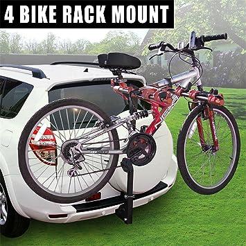Amazon Com F2c 4 Bike Hitch Mount Rack With 2 Inch Receiver Suv Car