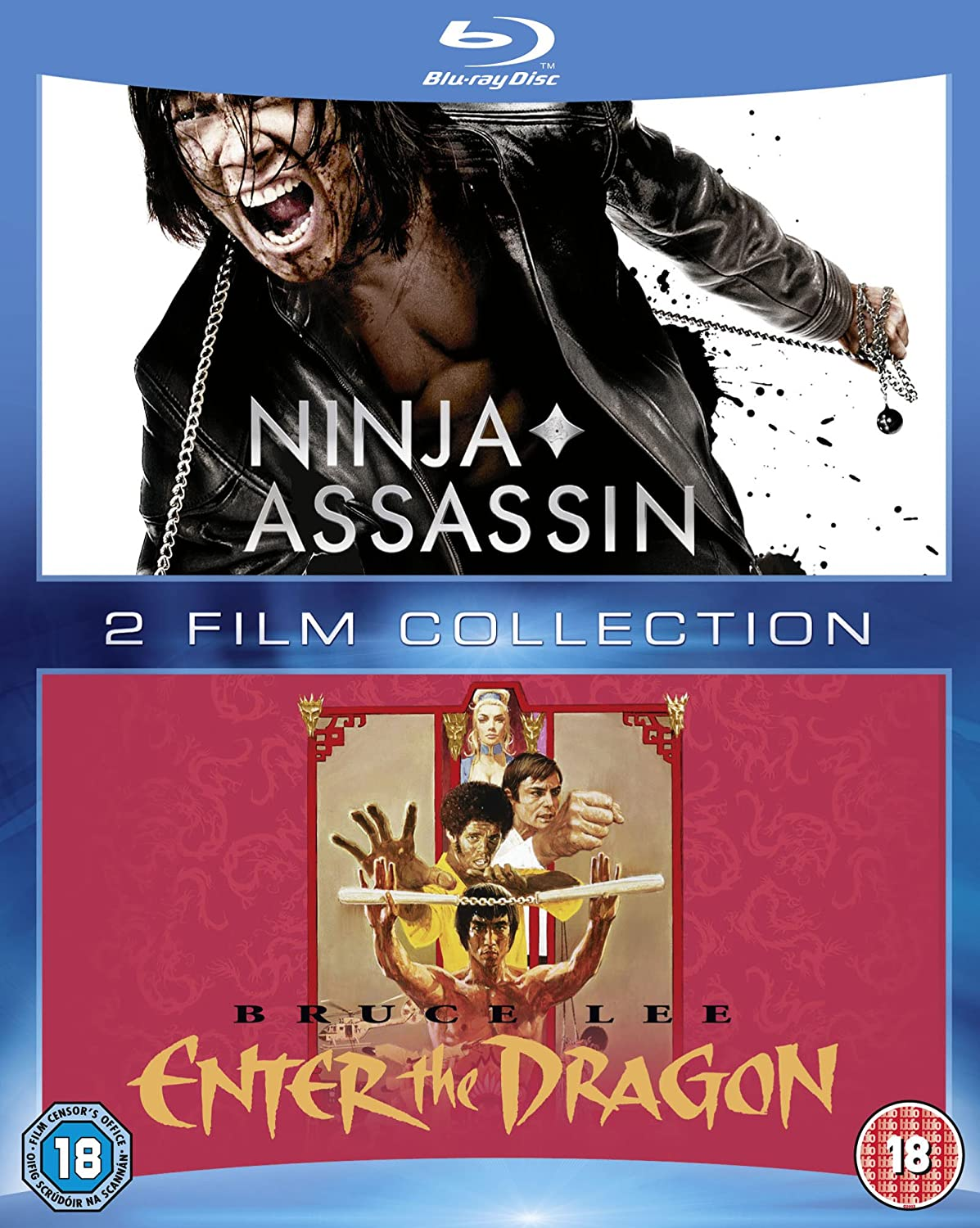 Amazon.com: Ninja Assassin/Enter the Dragon [Region B] [Blu ...
