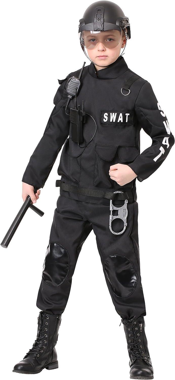 SWAT Commander Kids Costume LARGE