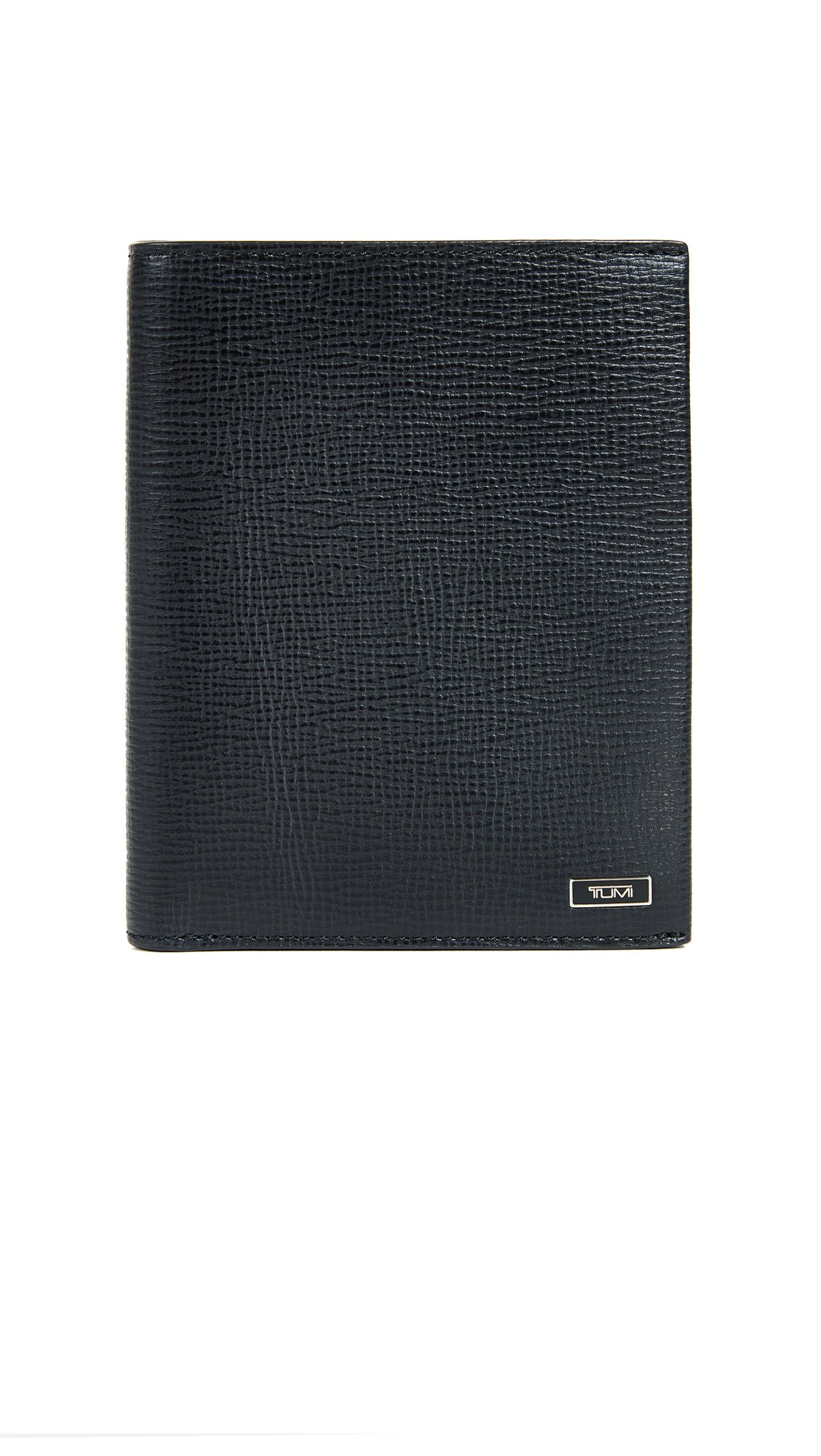 Tumi Men's Monaco Passport Case, Black, One Size