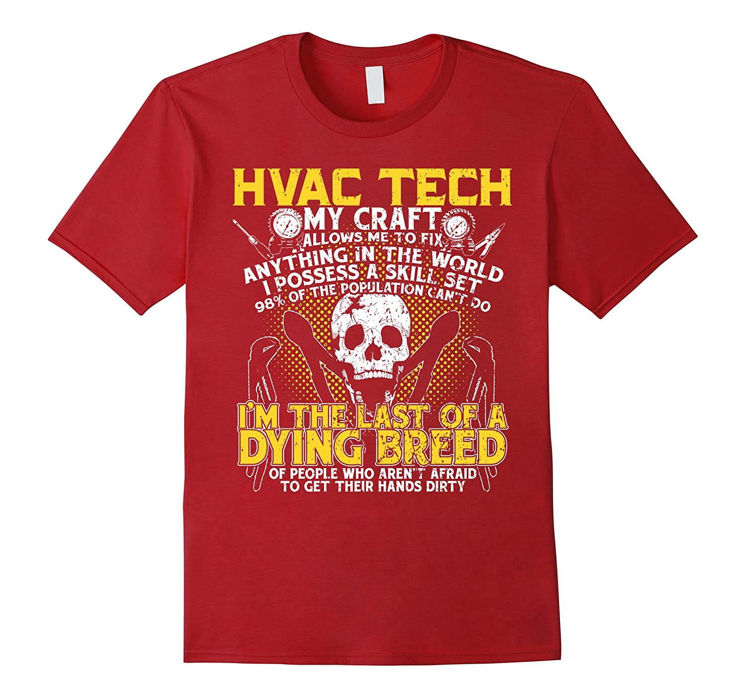 A Dying Breed Of My Craft  HVAC Tech Gift Shirt