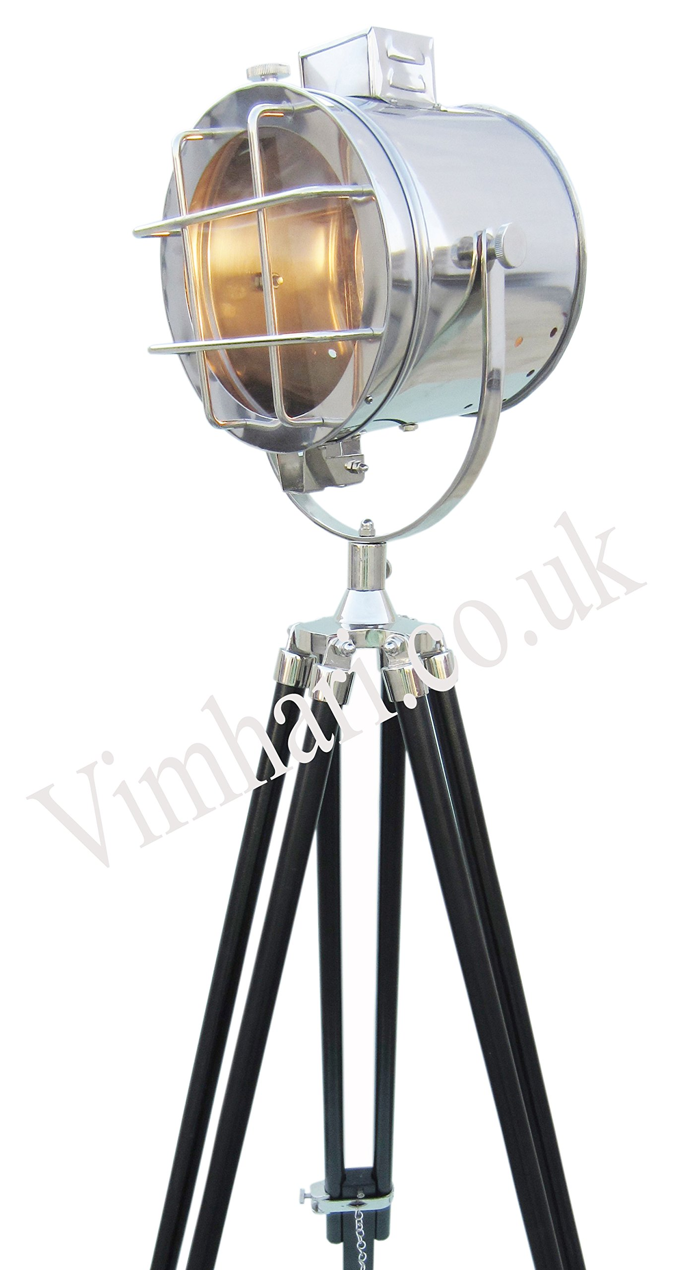 Vimhori Onlione Floor Lamp Home Decorative Vintage Design Tripod Lighting Searchlight Spot Light