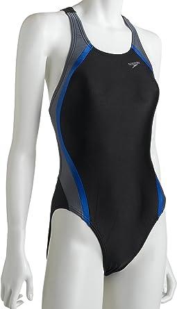 Speedo Womens Race Xtra Life Lycra Super S Back Swimsuit