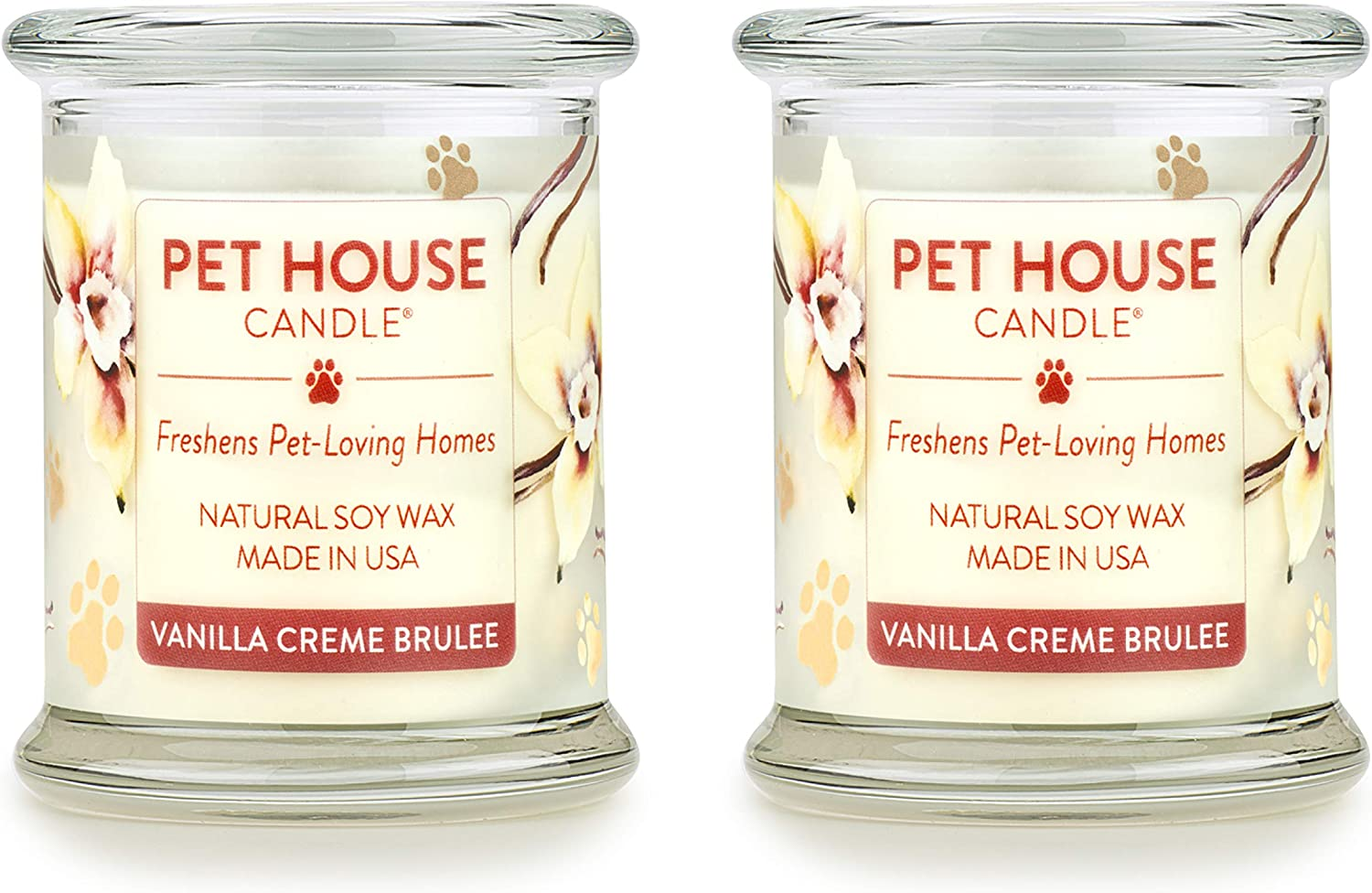 Non-Toxic Pumpkin Spice 100/% Natural Soy Wax Candle Pet House Candle Eco-Friendly Reusable Glass Jar Scented Candles Up to 60 Hours Burn Time 20 Fragrances Pet Odor Eliminator One Fur All