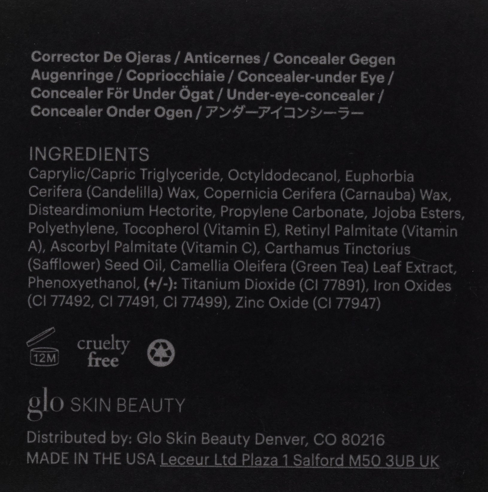 Glo Skin Beauty Under Eye Concealer - Honey - Mineral Makeup Concealer, 4 Shades   Cruelty Free by Glo Skin Beauty (Image #3)