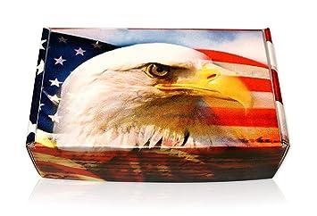 Amazon com: American Eagle USA Flag Gift Boxes Perfect