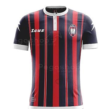 Zeus Camiseta Oficial 2016/17 Crotone Fútbol Home, M: Amazon.es: Deportes y aire libre