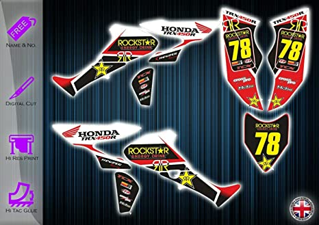 Sticker FX Graphics Kit de Pegatinas Compatible con Honda ...
