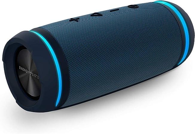Energy Sistem Urban Box 7 Basstube Cobalt Tragbarer Bluetooth Lautsprecher 30 W Kabelloser Soundbox 360 Sound Experience Tws Wasserdicht Audio Hifi