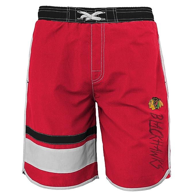 9259f62534 Amazon.com : Outerstuff NHL Teen-Boys Youth Boys 8-20 Swim Trunk : Clothing