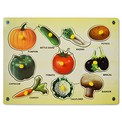 Bey Bee Educational Toys Vegetables Learning Kit