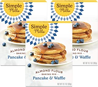 product image for Simple Mills Almond Flour Pancake Mix & Waffle Mix, Gluten Free, Made with whole foods, 3 Count (Packaging May Vary)
