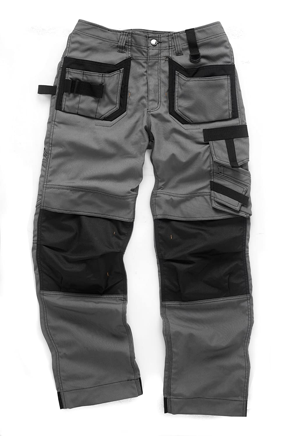 Scruffs Pro Trouser 2012 with 36-inch Waist/ 33-inch Leg - Grey