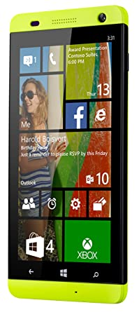 BLU Win HD 5-Inch Windows Phone 8 1, 8MP Camera Unlocked Cell  Phones-Non-Retail Packaging-Yellow (Discontinued by Manufacturer)