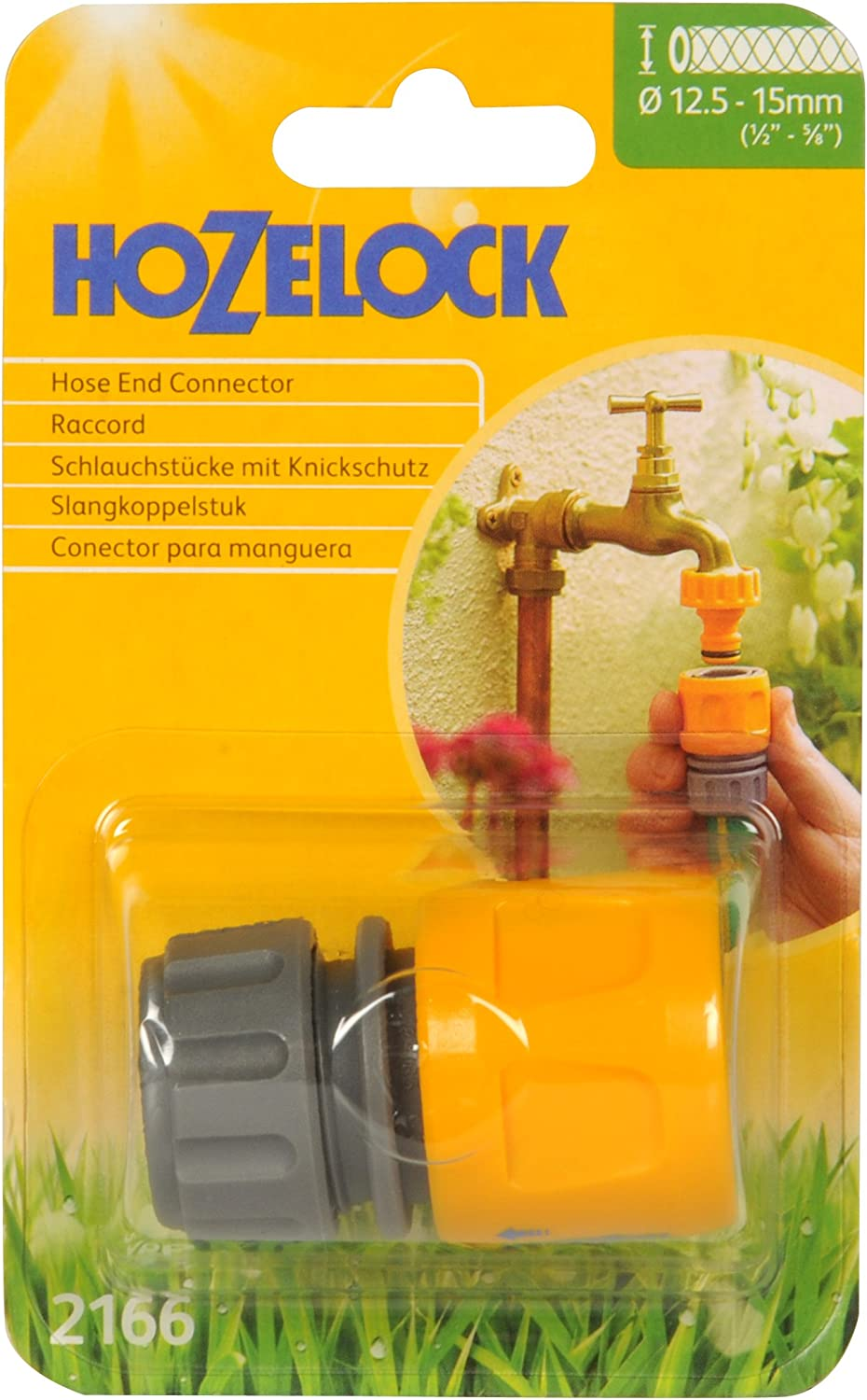 Hozelock Hose end connector 12.5mm