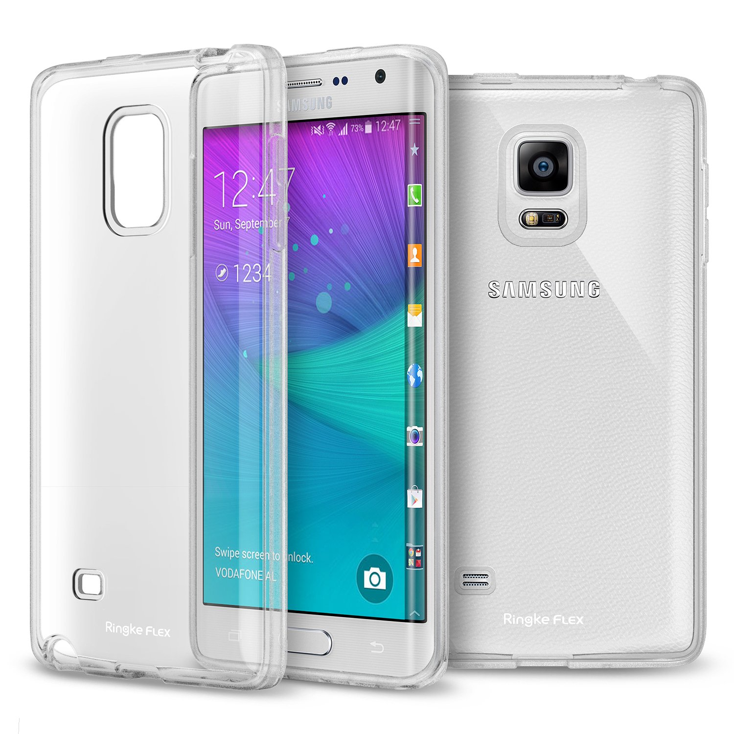Galaxy Note Edge Case Ringke FLEX Case [Strong TPU][CRYSTAL VIEW] Premium Flexible Strong TPU Soft Gel Case Amazon Electronics