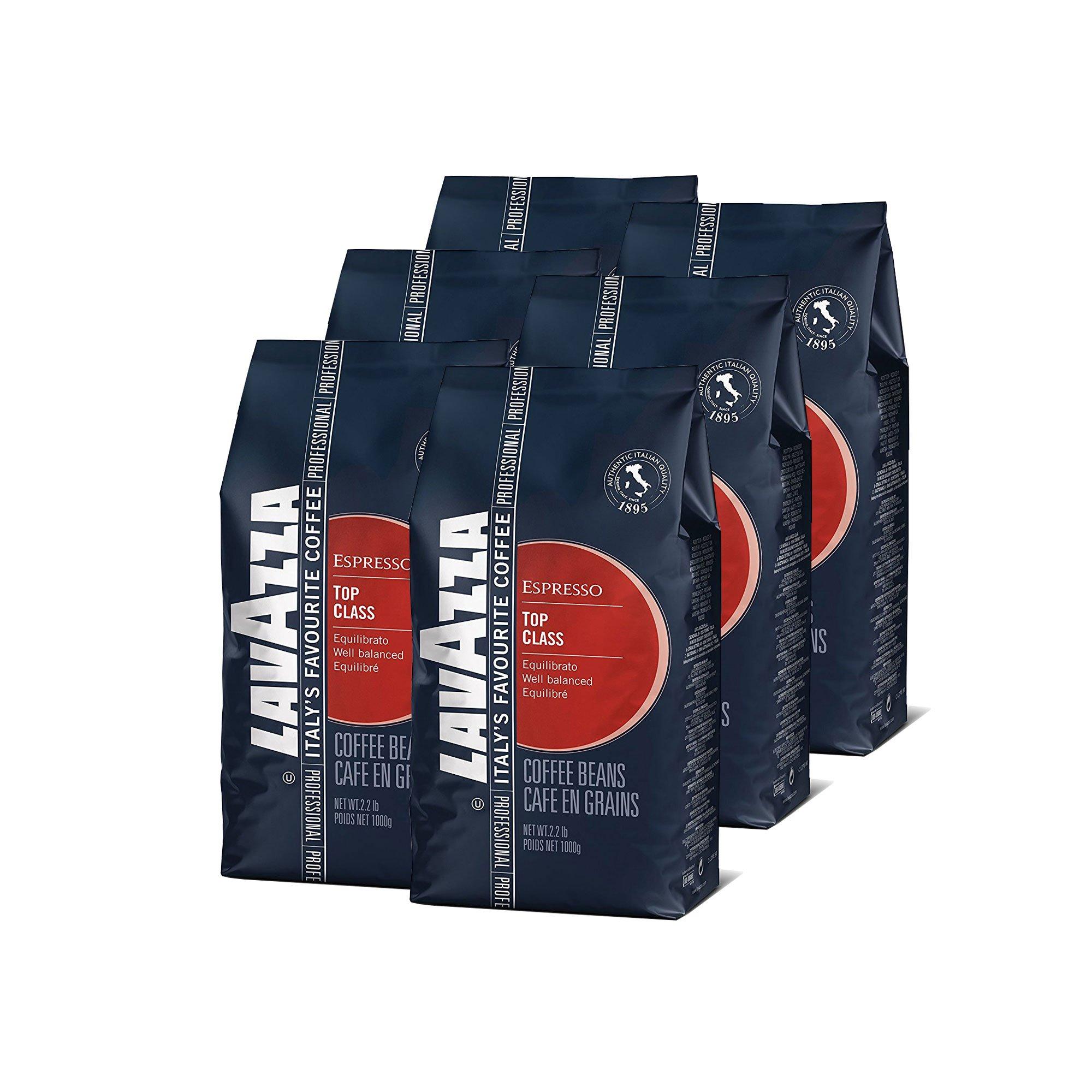 Lavazza Top Class Whole Bean Coffee Blend, Medium Espresso Roast, 2.2 Pound, 6 Count by Lavazza (Image #2)