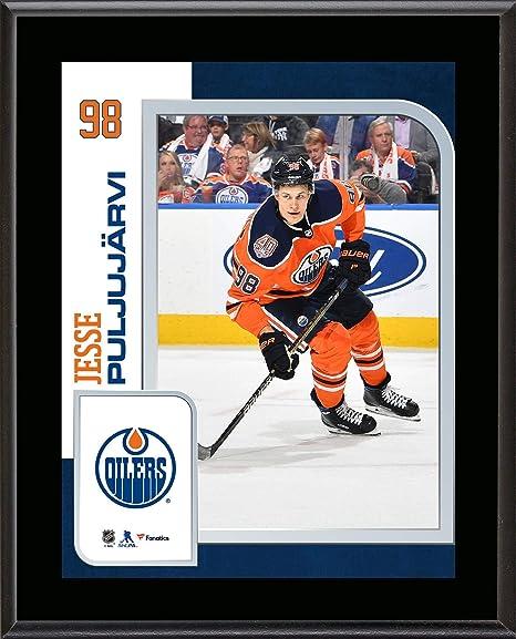 13eed1c76 Jesse Puljujarvi Edmonton Oilers 10.5 quot  x 13 quot  Sublimated Player  Plaque - NHL Player Plaques