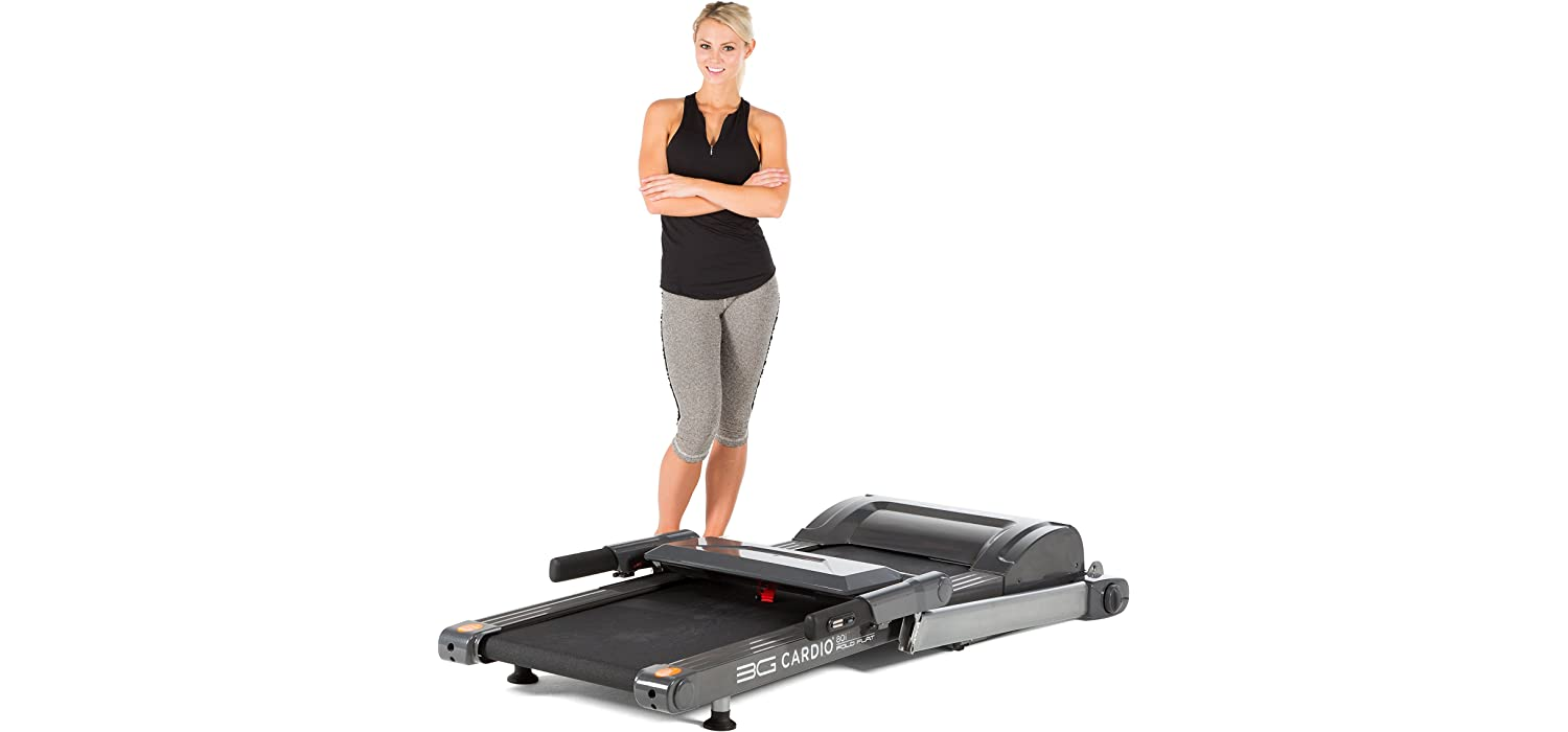 foldable treadmill under bed