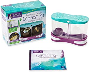 Educational Insights Nancy B's Science ClubGarbage to Gardens Compost Kit & Decomposition Book