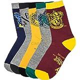 Pack de 5 Chaussettes Harry Potter (blason des Maisons) - Cinereplicas®