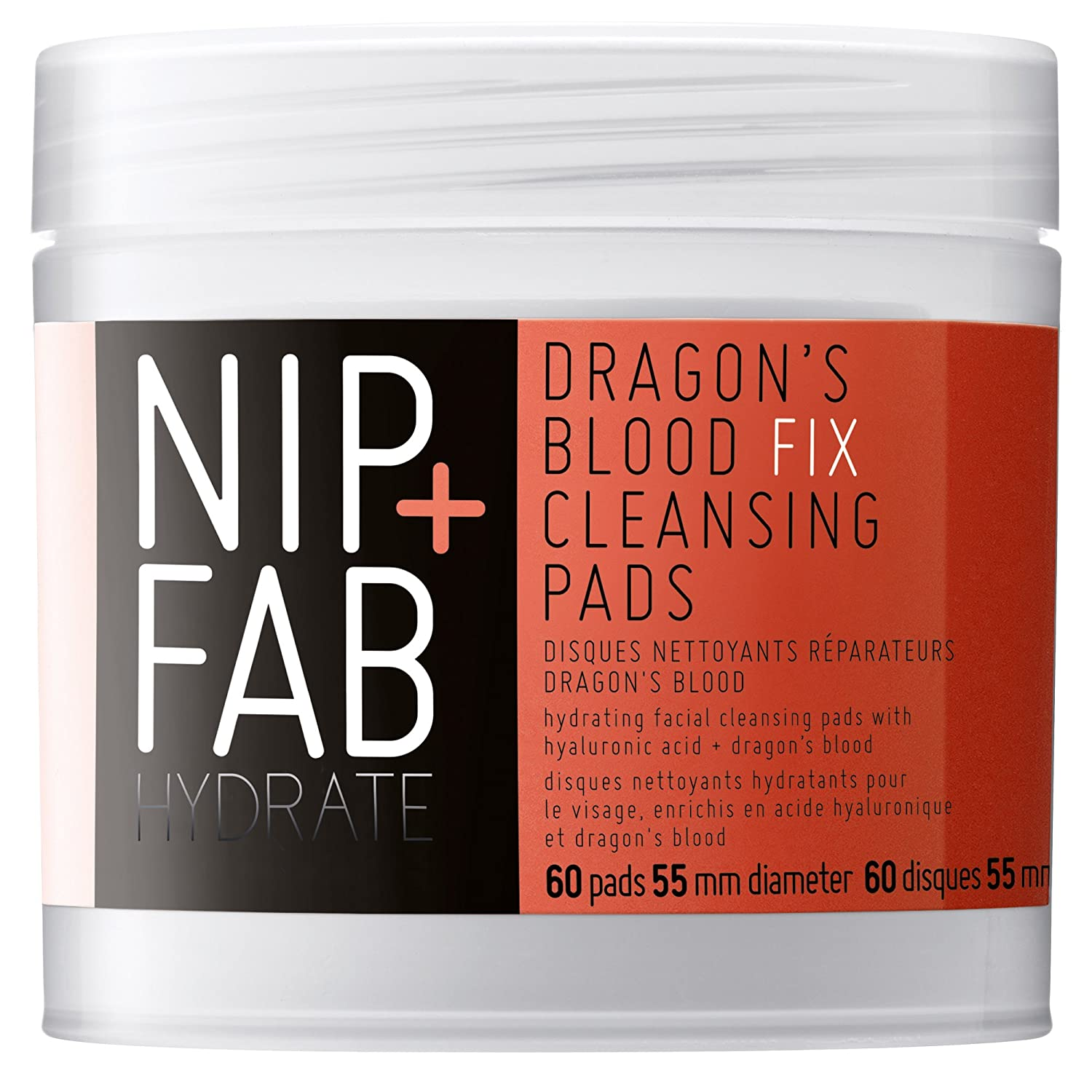 Nip + Fab Dragons Blood Fix Cleansing Pads, 2.7 Ounce SKDBPADS80