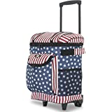 """Travelers Club 18"""" Cool Carry Insulated Rolling Cooler,"""