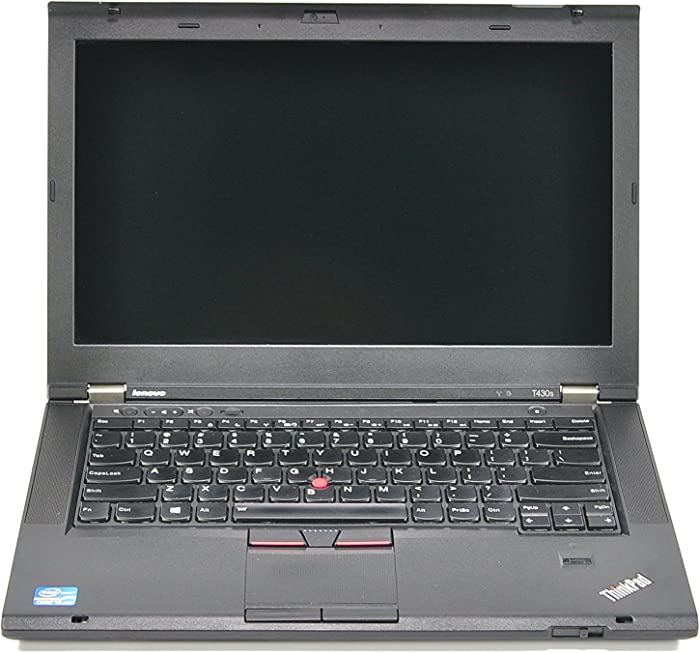 Newer Thinner Lighter Flagship Lenovo Thinkpad T430S High Performance Business Laptop - 14in Full HD Intel Core i5-3320 Up to 3.3 GHz 8GB RAM 320GB HD Webcam DVD Windows 10 Pro (Renewed)