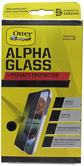 OtterBox CLEARLY PROTECTED ALPHA GLASS PRIVACY for Samsung Galaxy S6