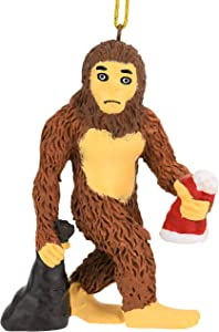 Tree Buddees Bigfoot Yeti Sasquatch Christmas Ornament